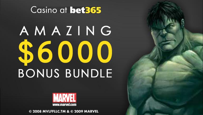 Istimewa bulan Oktober - bet365 menawarkan wang bonus sebanyak $6000