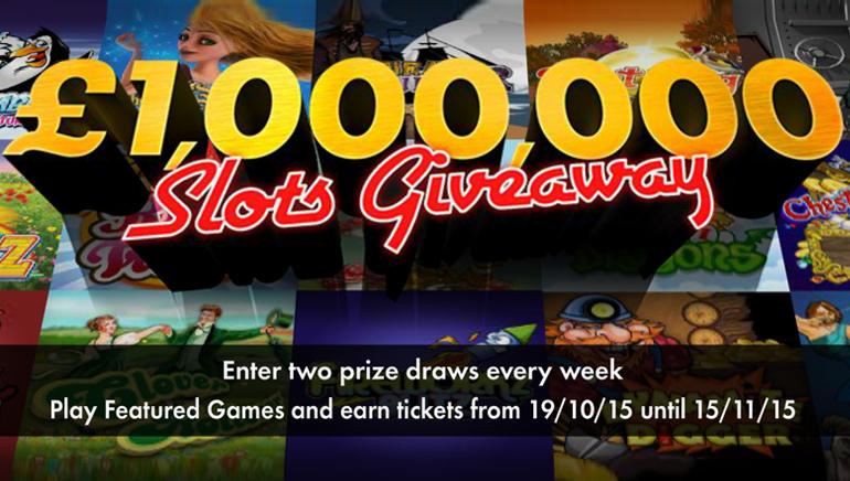 Sertai Cabutan £1,000,000/$1,500.000 di bet365 Casino dan Menang Besar