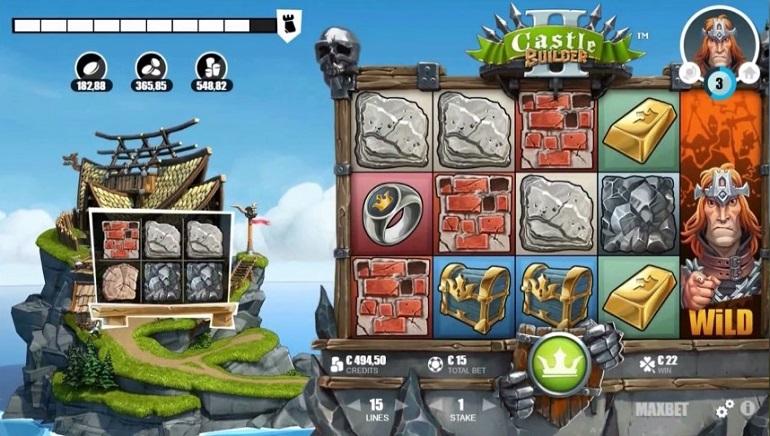 Masa Untuk Membina: Pengeluaran Slot Castle Builder II oleh Microgaming