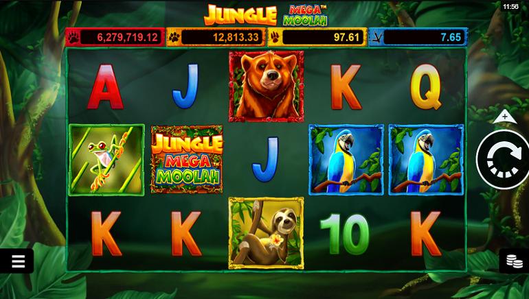 Ulasan Slot: Jungle Mega Moolah oleh Microgaming