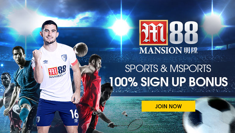 Sportsbetting & MSports available at M88 Sports