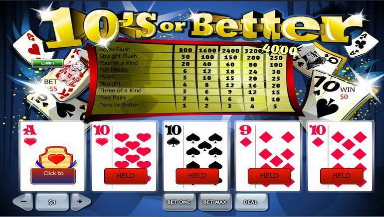 Poker Video Dalam Talian