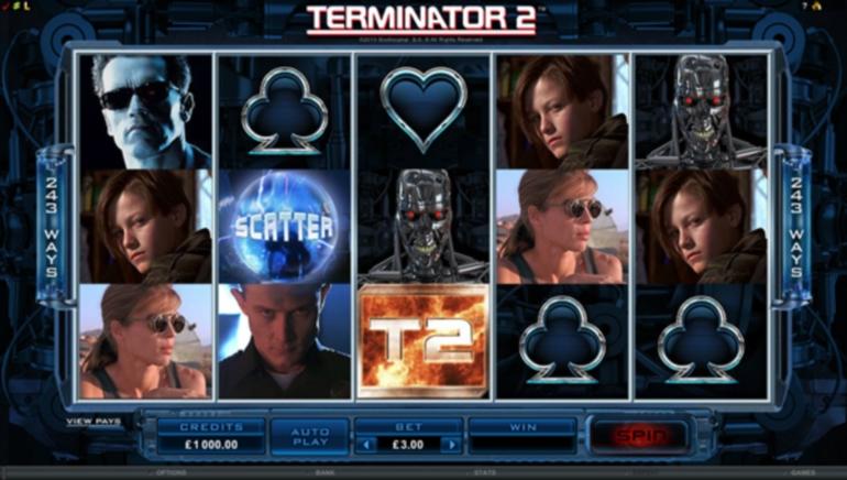 Permainan Keluaran Baru: Slot Video Terminator 2 Dilancarkan