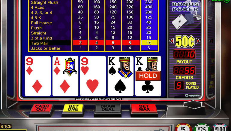 Poker Video Dalam Talian Percuma